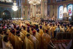 Литургия в день памяти святителя Мелетия в Благовещенском кафедральном соборе