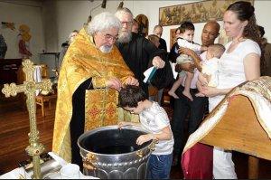 В бельгийском городе Турнэ группа местных жителей приняла Православие