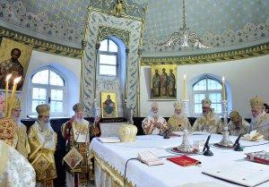 Литургия в кафедральном Георгиевском соборе на Фанаре в день Торжества Православия