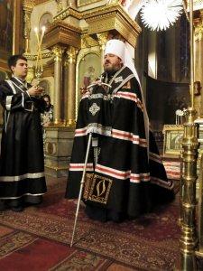 Чин прощения в Свято-Благовещенском кафедральном соборе