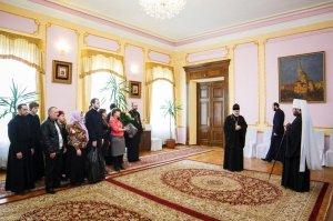 По случаю 44-летия митрополита Онуфрия состоялся прием