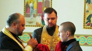 Воспитанники Куряжской колонии приобщились Христовым Тайнам в дни Великого поста