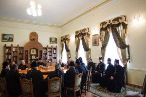 Состоялось собрание благочинных епархии передСветлым праздником Пасхи