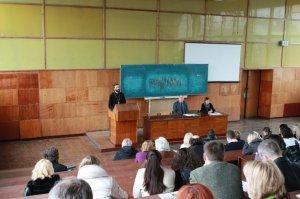 Семинар в Харьковском национальном университете строительства и архитектуры