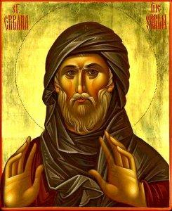 Преподобный Ефрем Сирин (К 1640-летию кончины)
