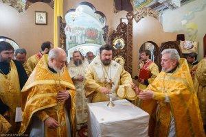 Освящение крестильного храма в честь  святителя Николая Чудотворца в г.Харькове