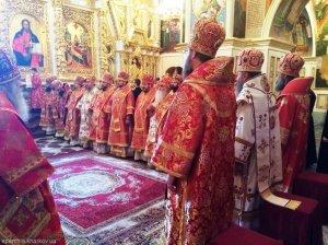 В годовщину Харьковского Архиерейского Собора митрополит Онуфрий принял участие в юбилейных торжествах в г. Киеве
