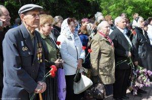 Хор ХДС принял участие в мероприятии, посвященном 69-й годовщине Великой Победы, в Ленинском районе Харькова