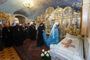 Местоблюститель Киевской Митрополии совершил Литургию вБлаговещенскомкафедральном собореХарькова