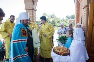 В Неделю 8-ю по Пятидесятнице митрополит Онуфрий совершил Литургию в Свято-Николаевском храме поселка Циркуны