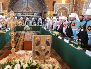Митрополит Онуфрий принял участие в работе  Архиерейского Собора УПЦ в г. Киеве