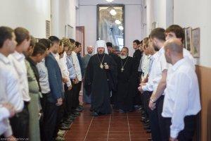В Харьковской духовной семинарии прошли  вступительные экзамены