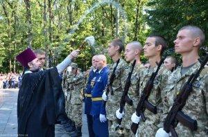 Благословение на начало учебного года курсантам университета Воздушных Сил им. И. Кожедуба