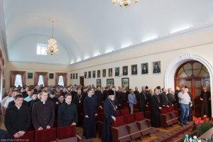 Открытие нового 2014/2015 учебного года в Харьковской духовной семинарии