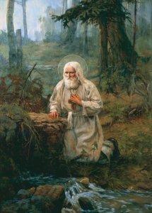 В чем подвиг преподобного Серафима?