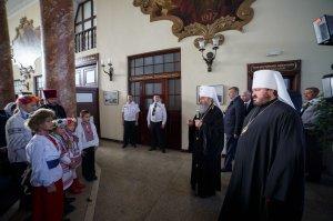 Предстоятель УПЦ прибыл в Харьков по случаю празднования 215-летия Харьковской епархии