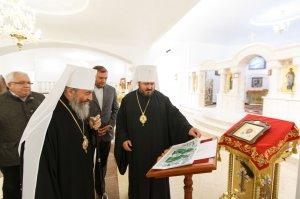 Блаженнейший Митрополит Онуфрий посетил храм в честь святых Жен-Мироносиц