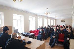 Митрополит Онуфрий возглавил собрание благочинныхХарьковской епархии