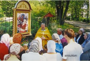 Молебен у иконы «Всецарица»