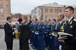 Выпускники летного факультета университета Воздушных Сил получили благословение Церкви