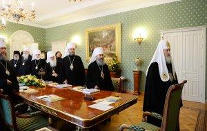Геленджик. Блаженнейший Митрополит Онуфрий принял участие взаседании Священного Синода Русской Православной Церкви
