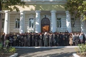 Престольный праздник в Харьковской духовной семинарии