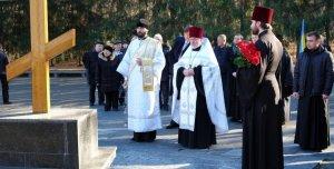 В день 70-летия освобождения Украины  от фашистских захватчиков на Мемориале Славы совершен молебен