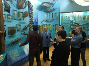 Воспитанники Харьковской духовной семинарии посетили Музей природы ХНУ им. В. Н. Каразина