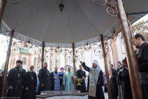 В день престольного праздника митрополит Онуфрий совершил Литургию в Свято-Казанском храме г. Первомайский