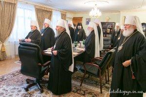КИЇВ. Відбулося підсумкове у 2014 році  засідання Священного Синоду УПЦ