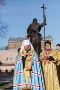 В городе Харькове состоялся благодарственный молебен в честь уходящего 2014 года