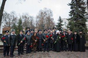 Митрополит Онуфрий принял участие  в церемонии в честь Дня милиции