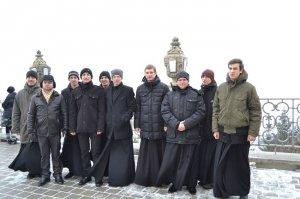 Паломничество студентов семинарии в Почаевскую Лавру