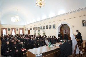 Доклад секретаря Харьковской епархии протоиерея Михаила Кита, о жизни Харьковской епархии в 2014 году