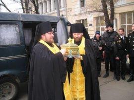 В Харьков прибыли мощи Святителя Николая