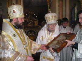 Митрополит Никодим отметил день своего тезоименитства