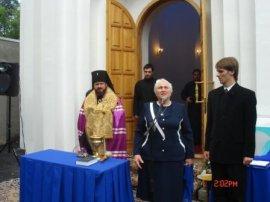 Освящена Студенческая часовня при Народной украинской академии