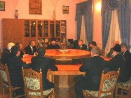 Делегация депутатов Белгородской областной Думы  посетила Харьковское Епархиальное Управление