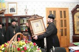 В преддверии Рождества Христова  духовенство Харьковской епархии поздравило  своих Архипастырей