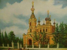Храм Архистратига Михаила с. Мурафа Краснокутского района