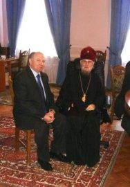 Харьковской епархии передана в дар картина В. И. Ковтуна