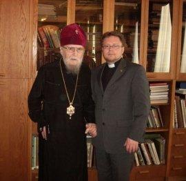 Митрополит Никодим встретился с пастором Андреем Гамбургом
