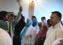 Освящена домовая церковь при Харьковском Доме ребенка № 1