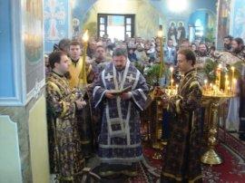 в Харькове освящен храм в честь Покрова Божией Матери