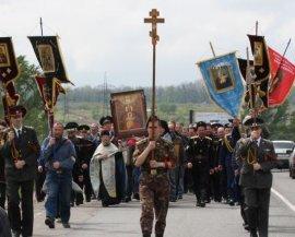 Крестный ход «Под звездой Богородицы» прошел по Харьковской земле