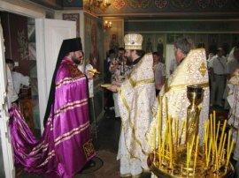 Освящен нижний храм Свято-Благовещенской церкви г. Краснограда