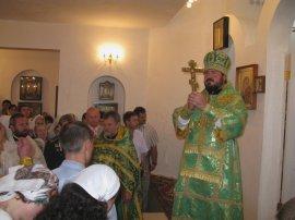 Освящен нижний храм строящейся  Свято-Георгиевской церкви в Харькове