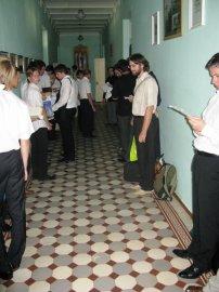Состоялись вступительные экзамены в Харьковскую Духовную Семинарию