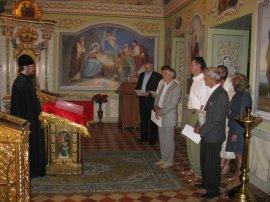 Церковными грамотами награждены ликвидаторы аварии на ЧАЭС