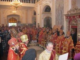 Архиепископ Онуфрий принял участие в торжествах в Мгарском монастыре
